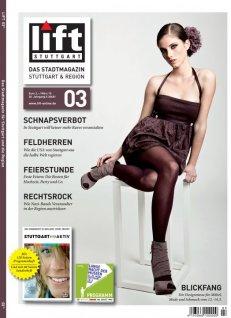 Junikind auf dem Titel des stuttgarter Stadtmagazins Lift