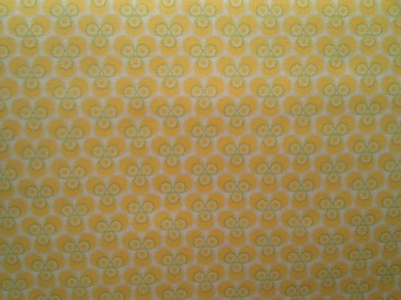 Blumenzauber gelb (tante ema Stoffe) / 14,- pro lfm/ 100% CO