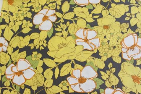 Summerflowers (Michel Miller fabrics ) / € 17,- pro lfm./ 100% Organic Cotton / 114 cm breit