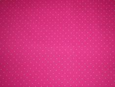 Punkte mini pink / 16,- pro lfm. / 100% Co. / 150 cm breit