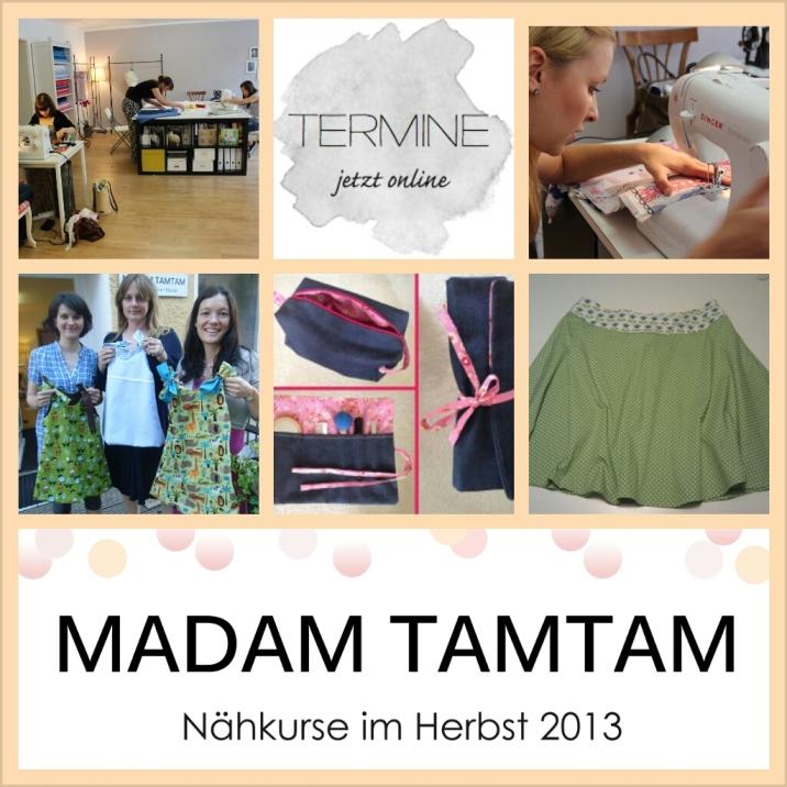 Anfänger und Fortgeschrittenen Kurse bei Madam TamTam