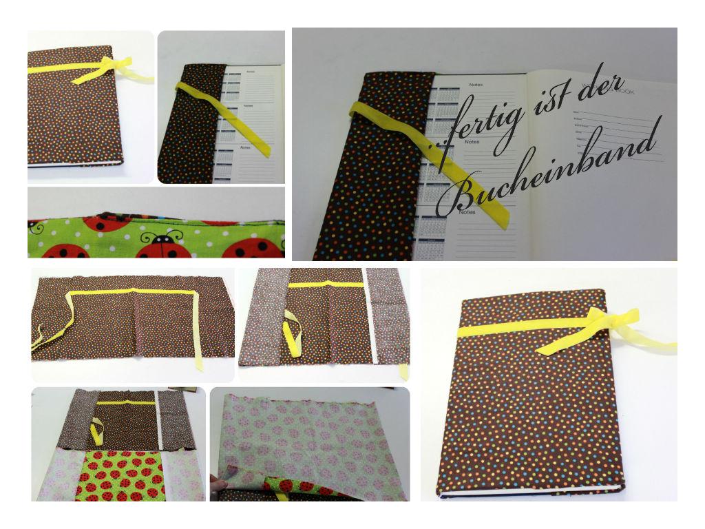 22.Kalendertürchen – DIY Bucheinband – Madam Tamtam