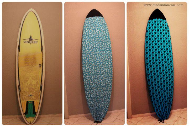 Unser Sommertipp heute:  DIY Surfbrettstrumpf