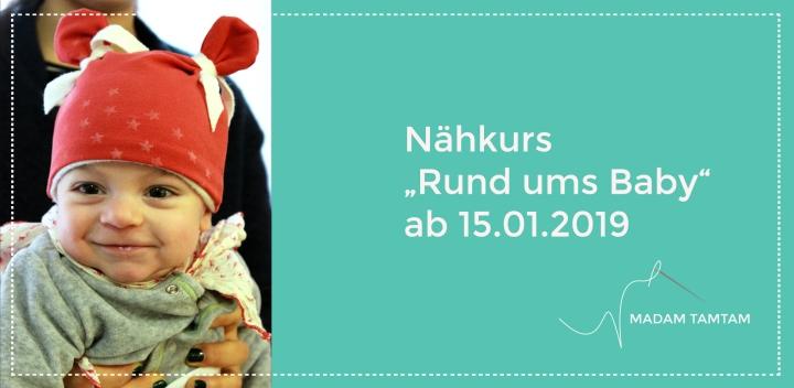"""""""Rund ums Baby"""" Nähkurs – der Kurs für Mamas undSchwangere"""